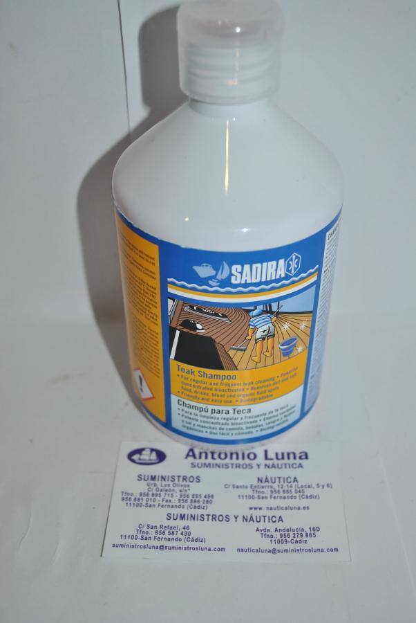 Champú para teca 500 ml Sadira