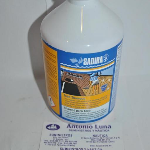 Champú para teca 500 ml Sadira [0]