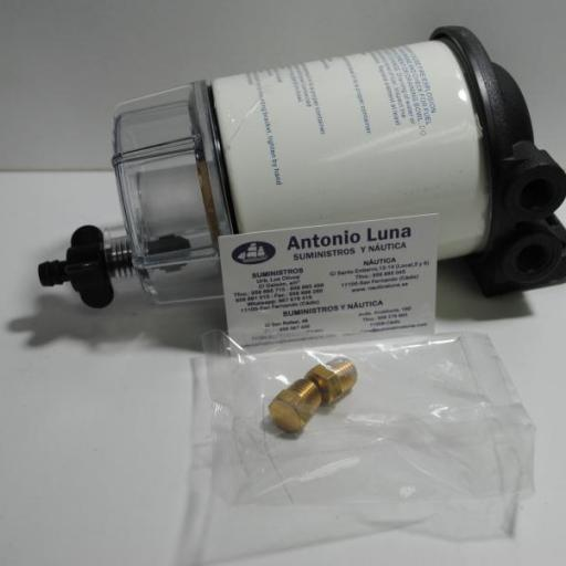 Filtro decantador completo Recobfilter de gasolina RecMar