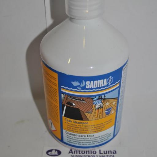 Champú para teca 500 ml Sadira [1]