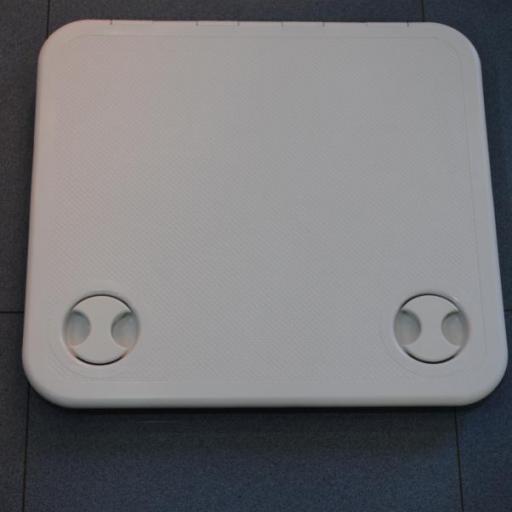 Escotilla de acceso (tambucho o registro) blanco de 46 cm x 51,1 cm blanco Nuova Rade
