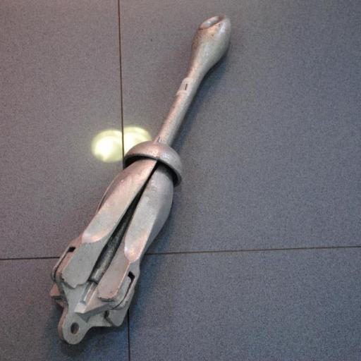 Ancla (rezón) plegable galvanizado [1]
