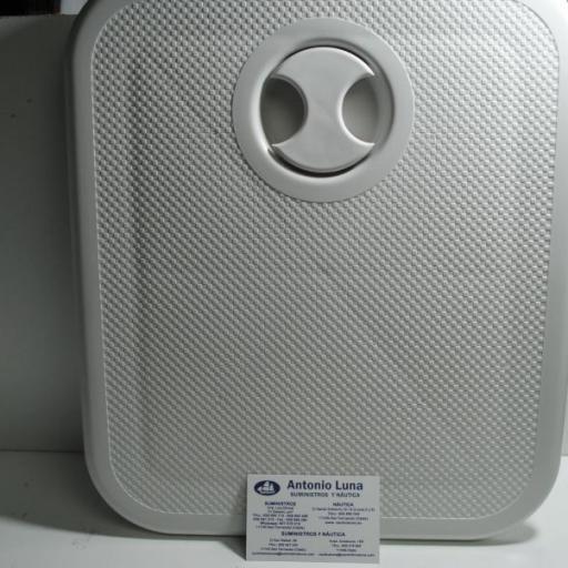 Registro (escotilla o tambucho) desmontable de 250 x 300 mm blanco Nuova Rade
