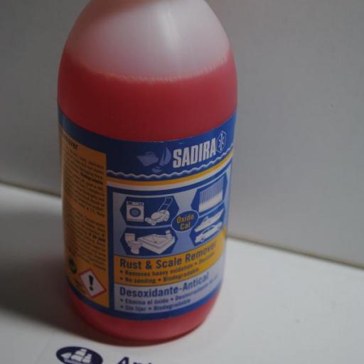 Desoxidante anti-cal 250ml Sadira