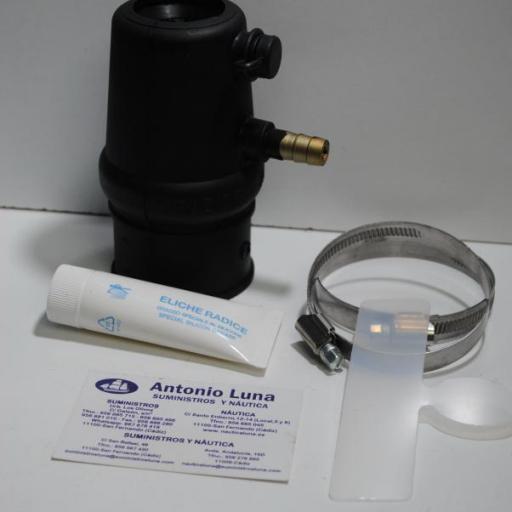 Cierre de bocina axial para eje de 35 mm y tubo de 48 mm con refrigeración Eliche Radice