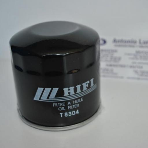 Filtro de aceite (equivalente 15400-POH-305 Honda) T8304 Hifi