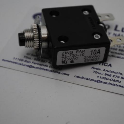 Disyuntor magnetotérmico para panel eléctrico