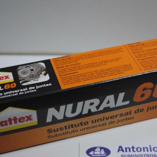 Sustituto universal de juntas 40ml Nural-60 Pattex