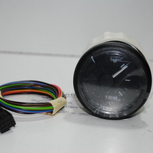 Indicador trim 90º 52 mm negro VDO