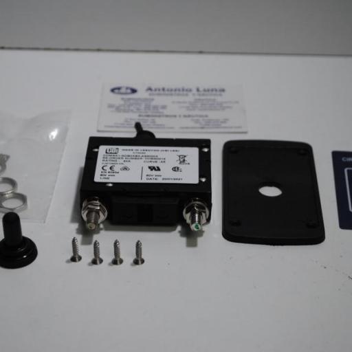 Panel magnetotérmico de 50A con interruptor Italwinch