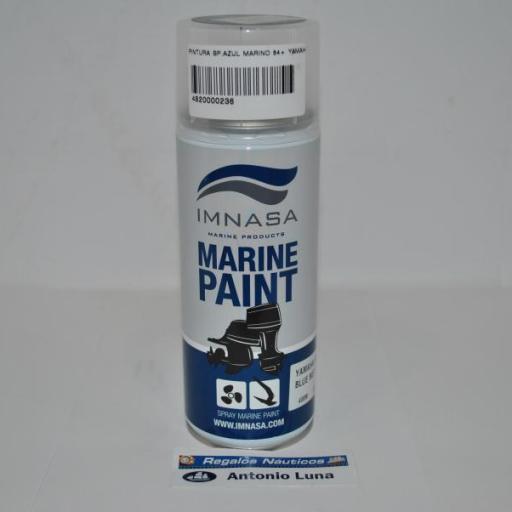 Pintura (spray) motor Marine Paint Yamaha 84+ azul marino 400ml Imnasa