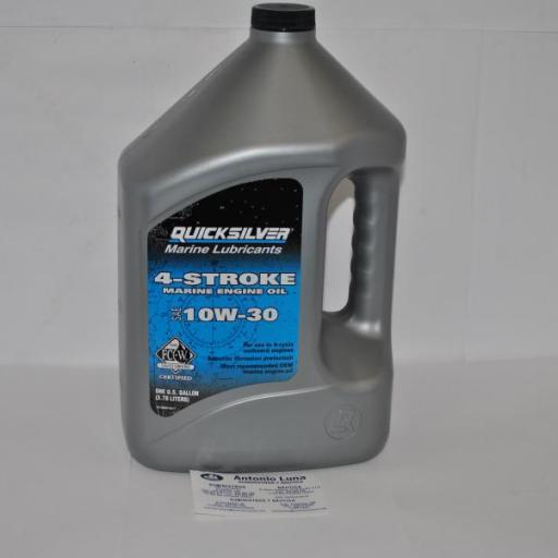 Aceite motor 4T (10W-30) 4 litros Quicksilver