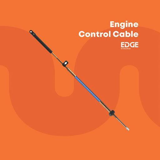 Cable de mando (control) para motores Mercury y Mercruiser de la serie Edge modelo EEC-005 extra flexible Multiflex