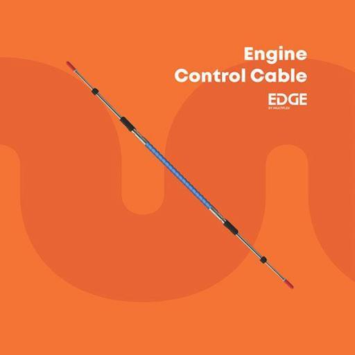 Cable de mando (control) serie Edge modelo EEC-133 (para motores Yamaha/Honda/Suzuki/Tohatsu/Selva) extra flexible Multiflex