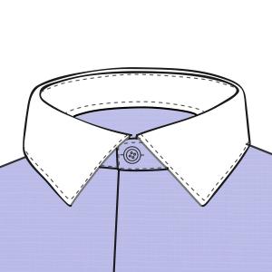 Combinado de cuello en Blanco
