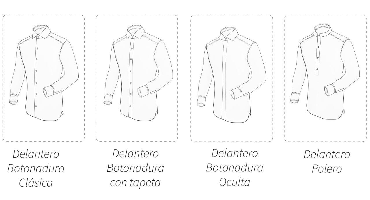 camisas a medida modelos de delanteros