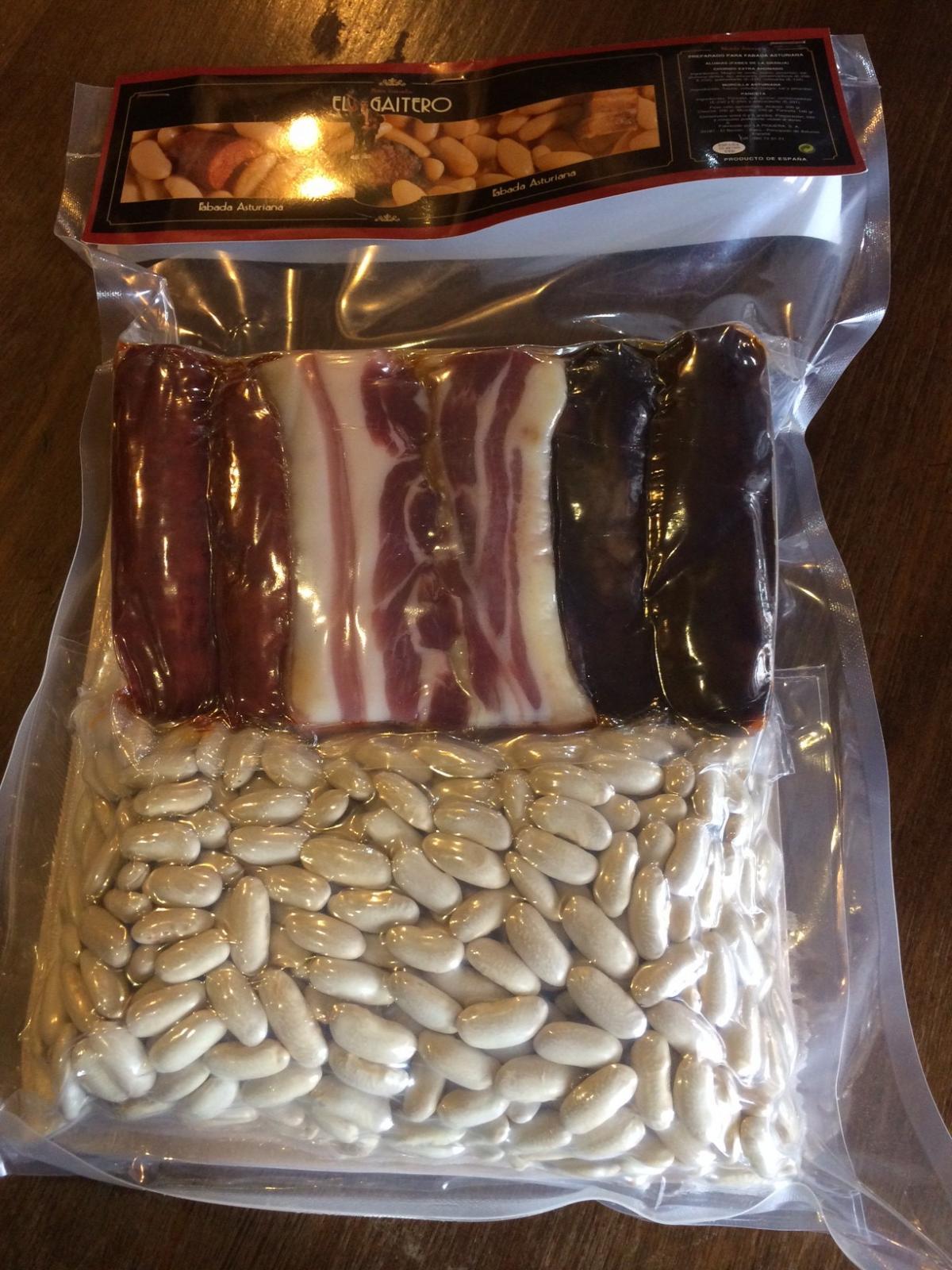 Preparado de Fabada Asturiana El Gaitero (3 raciones)