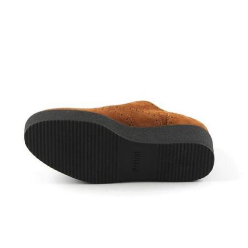 PERTINI zapato cordones serraje camel [3]