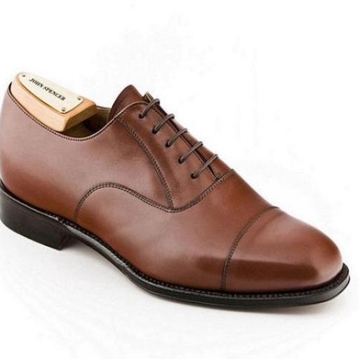 Zapato de cordones piel hombre Jhon Spencer