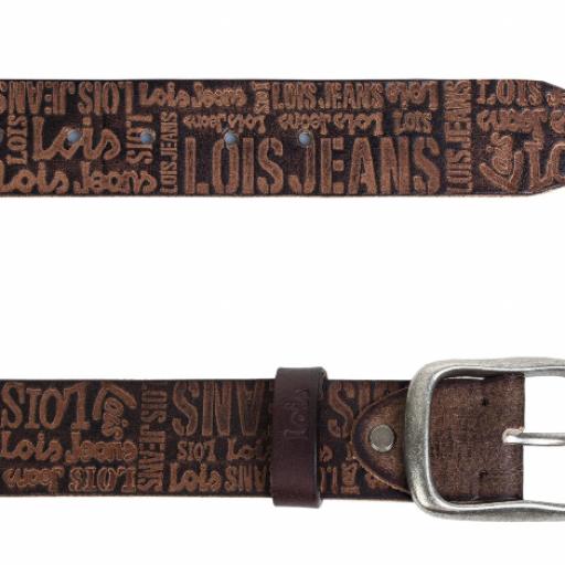 Cinturón piel letras Lois [1]