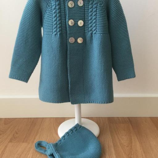 Abrigo con capota Babydif [0]