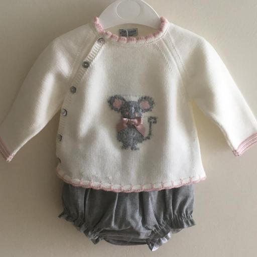 Conjunto Little Mouse Pangasa Baby [0]