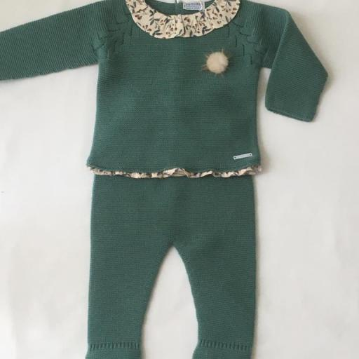 Conjunto polaina Hojas Pangasa Baby [0]