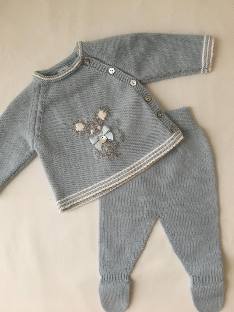 Conjunto Polaina ratoncito Pangasa Baby