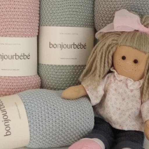 Mantas bebé Bonjourbébé