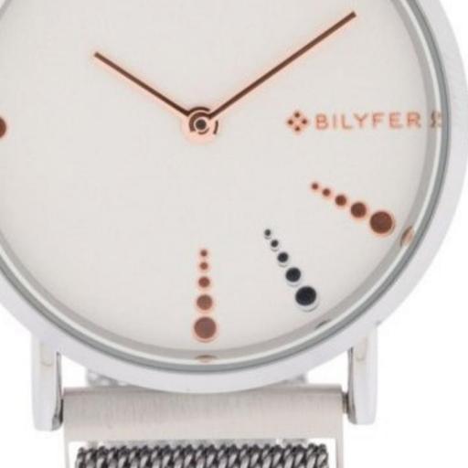 Reloj plateado Bilyfer [1]