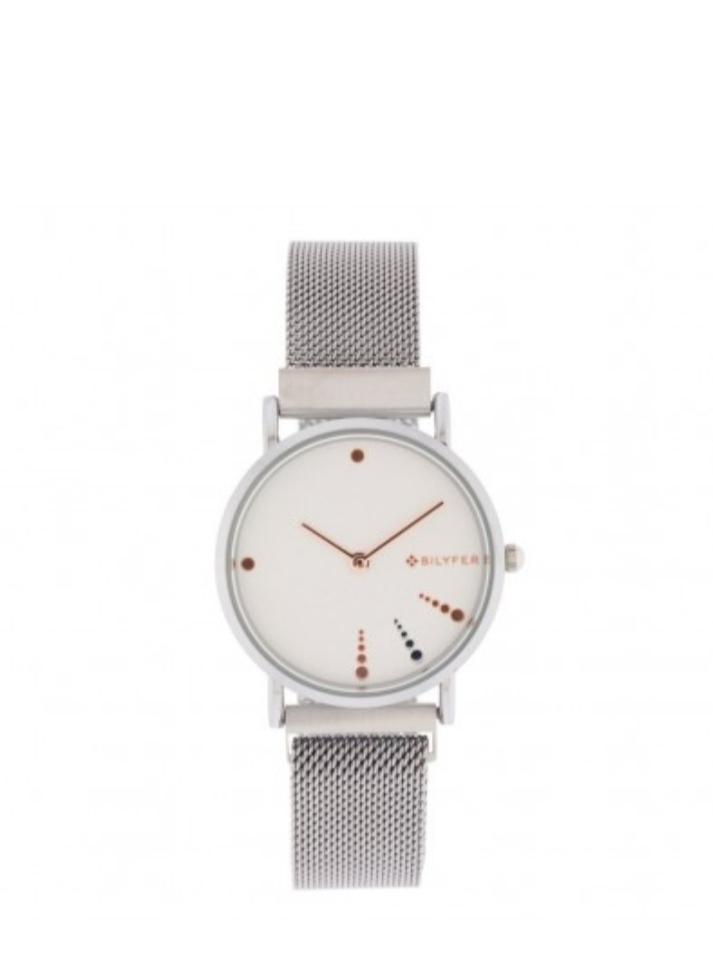 Reloj plateado Bilyfer
