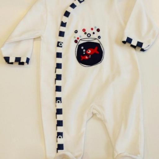 Pijama bebé pecera [1]
