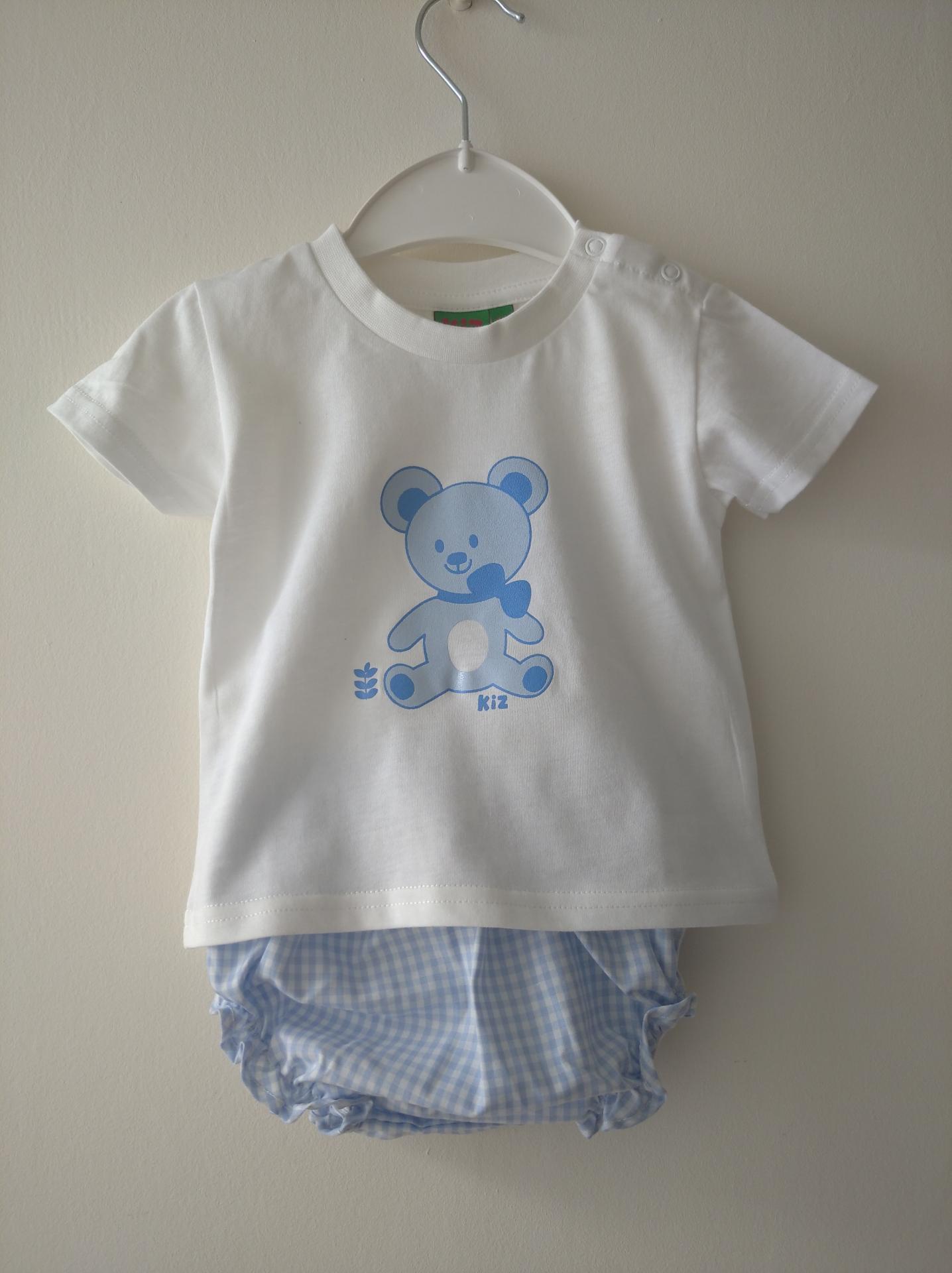 Conjunto Bebé oso Kiz