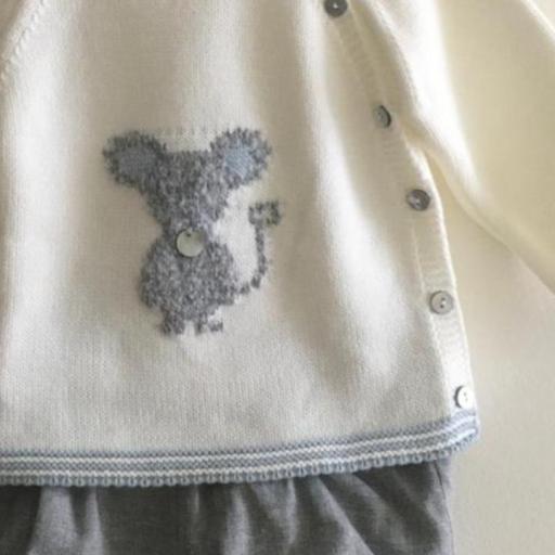 Conjunto Little Mouse Pangasa Baby Azul [1]