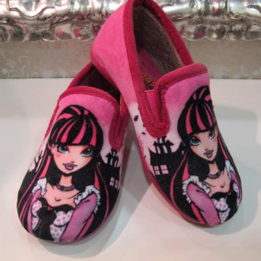 Zapatillas de casa Monster High