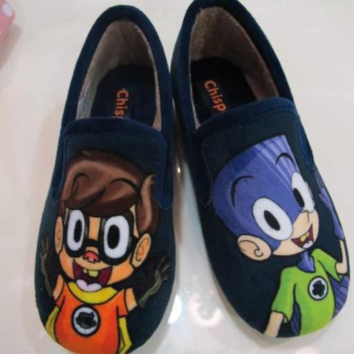 Zapatillas de casa Fanboy y Chum Chum