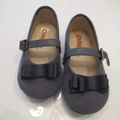 Zapato niña serraje Chispas