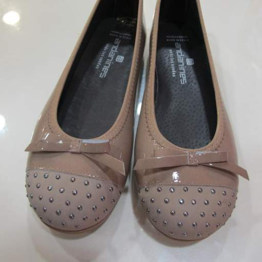 Zapatos niña charol .Andanines