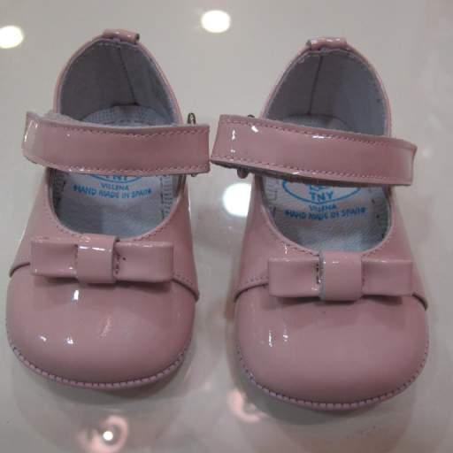 Zapato niña charol Tinny shoes