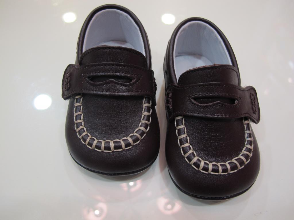 Náuticos marrón Tinny shoes