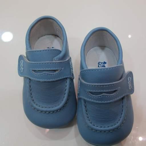 Náutico azul azafata Tinny shoes