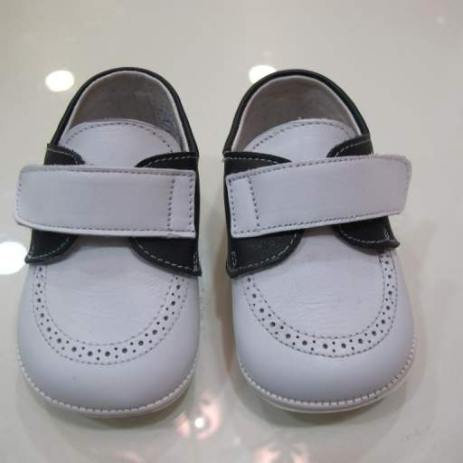 Náutico blanco y azul Tinny shoes