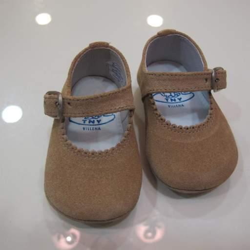 Zapato niña serraje Tinny shoes