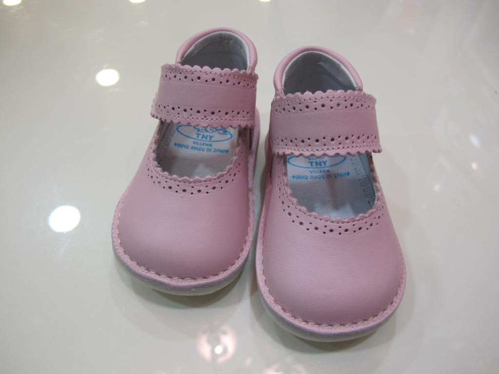 Zapato niña rosa Tinny shoes