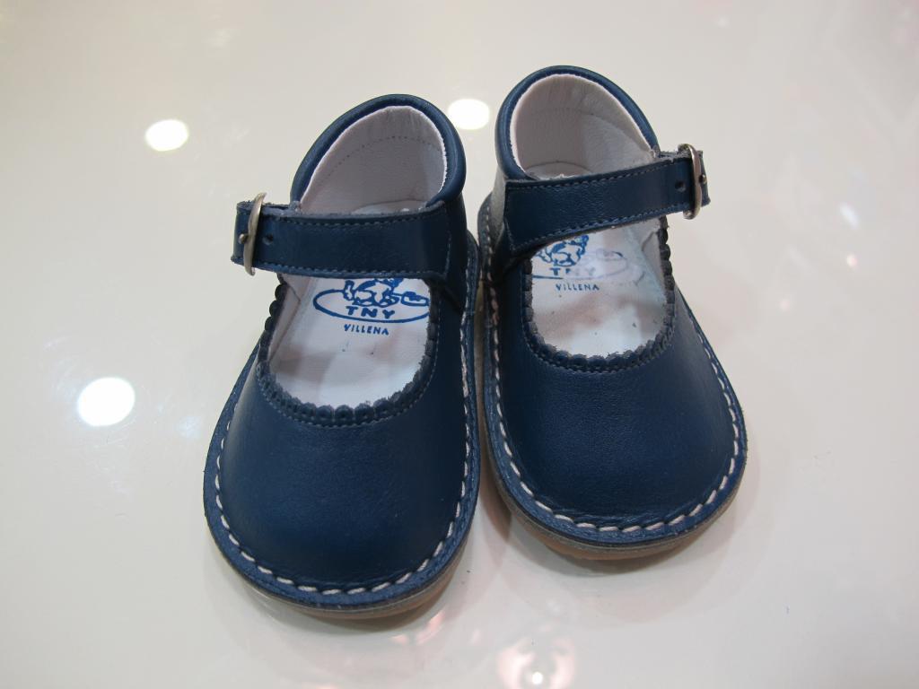 Zapato niña azul Tinny shoes