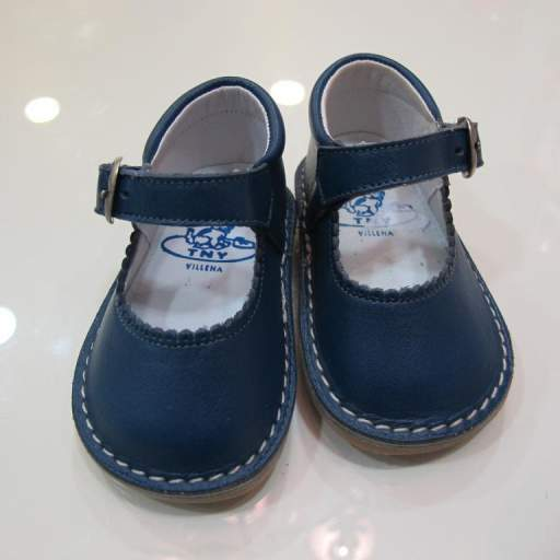 Zapato niña azul Tinny shoes