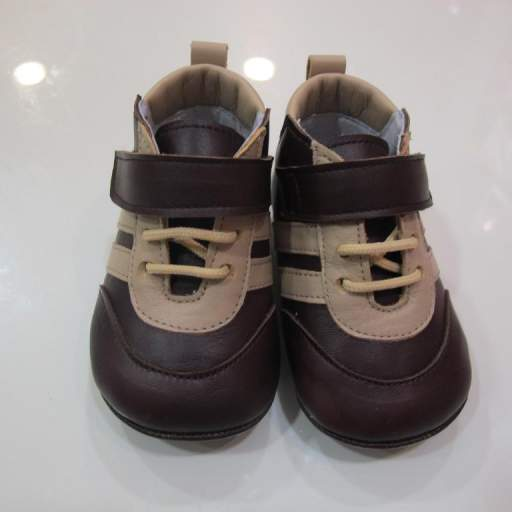 Botas marrón y beige Tinny shoes