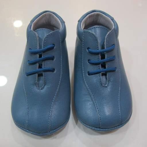 Botas azul azafata Tinny shoes