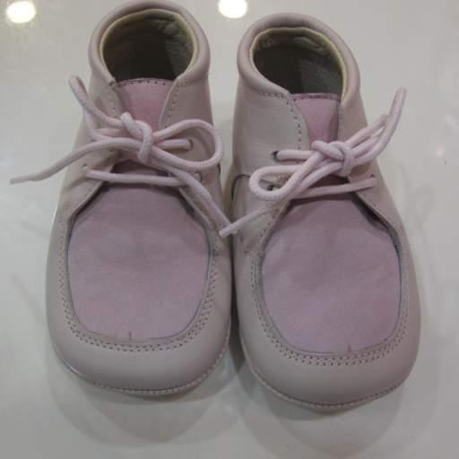Botas niña rosa Tinny shoes