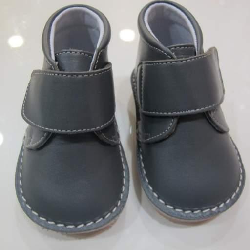 Botas color gris Tinny shoes